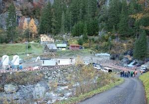 Der Bauplatz für die neue Wasserfassung in der «Lägni».